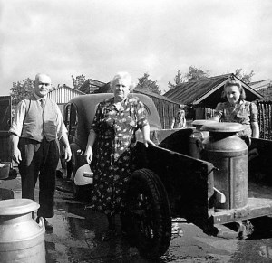 Milk collection 1940